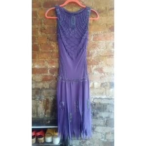 Sue Wong Nocturne beaded dress